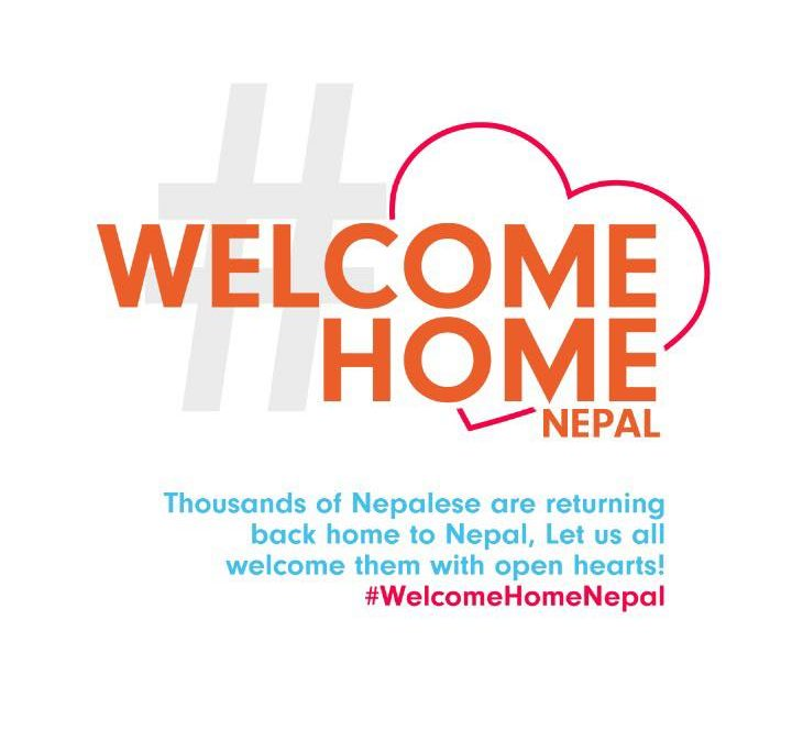 #WelcomeHomeNepal movement initiated to raise empathy & voice for thousands of Nepali crossing border