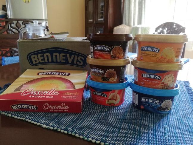Bennevis Ice cream