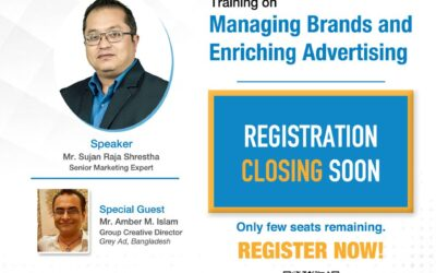 "Ad Club of Nepal is organizing a training on ""Managing Brands and Enriching Advertising"""