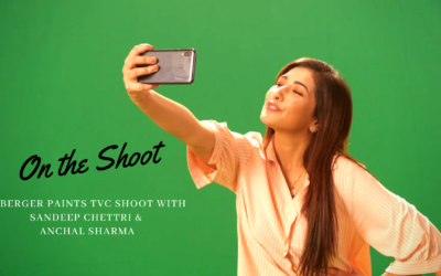BTS OF BERGER PAINTS FT. SANDEEP CHETTRI AND ANCHAL SHARMA
