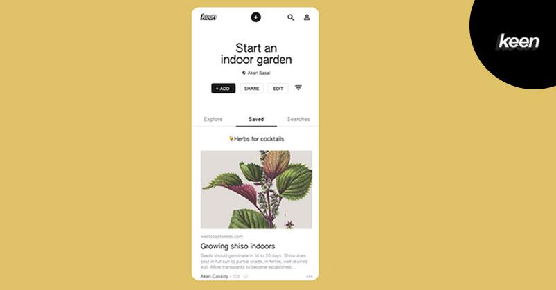 Google launches new Pinterest-like experimental app, Keen