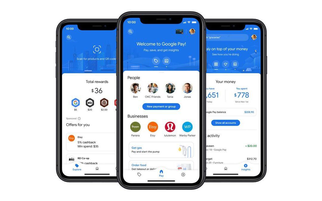 Google revamps Google Pay, adds 3 new partner banks