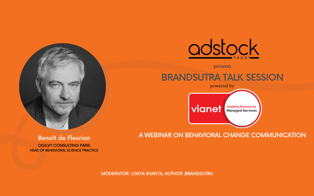 WEBINAR WITH MR. BENOIT DE FLEURIAN ON BEHAVIORAL CHANGE COMMUNICATION TOMORROW