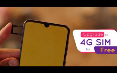 Ncell: 2GB 4G data bonus in SIM upgrading to 4G
