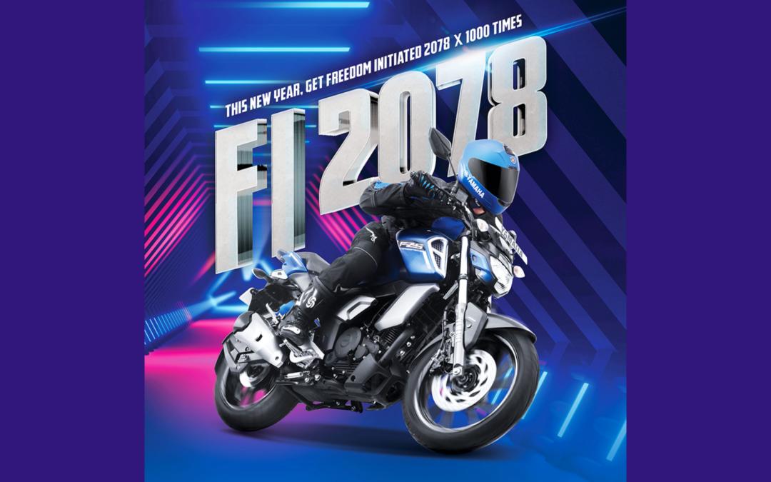 Yamaha Nepal announces the Freedom Initiated [FI] New Year 2078.