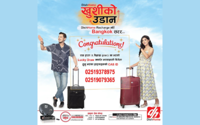 "DishHome's ""KHUSHI KO UDAAN"" Third Lucky Draw Winners Announced"