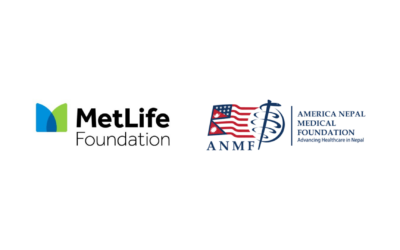 MetLife Foundation donates the US $50,000 to America Nepal Medical Foundation's COVID-19 response