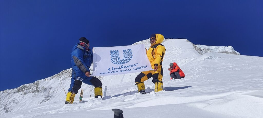 Unilever Nepal Mountain Cleaning Campaign 2021