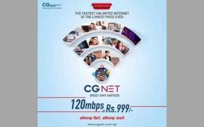 CG Communications launches internet service in Kathmandu