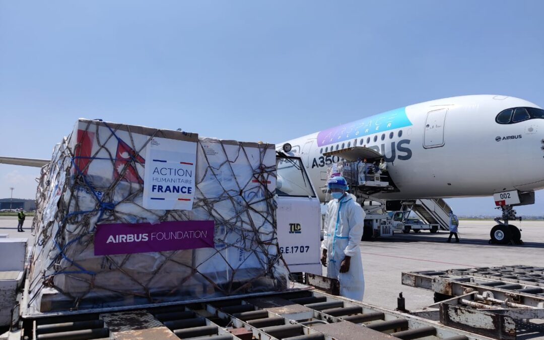 Airbus foundation supports fight against COVID-19 in Nepal