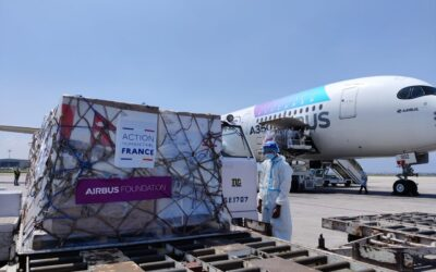 Airbus Foundation supports the fight against COVID-19 in Nepal