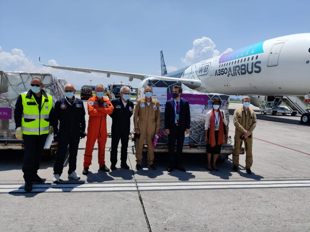 Airbus Foundation support Nepal