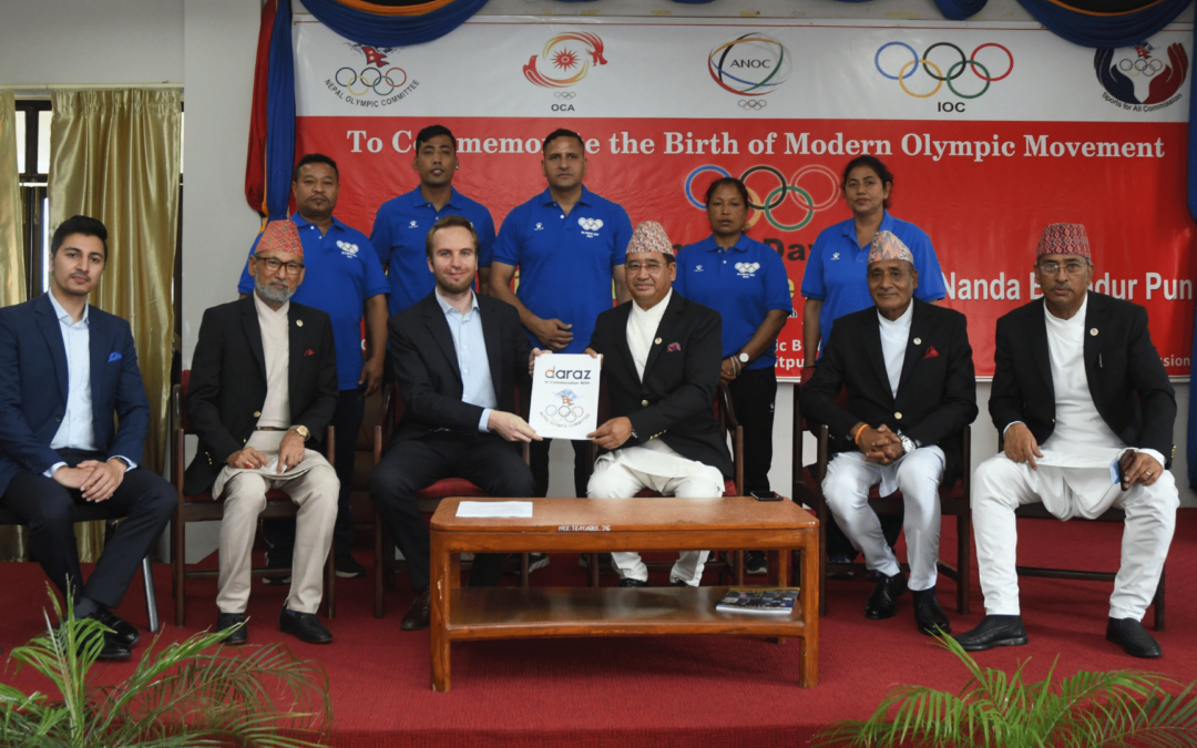 Daraz partners with Nepal Olympic Committee