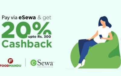 A partnership between Foodmandu and E-Sewa