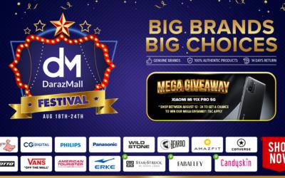 DarazMall Festival Announced