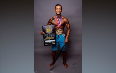 Utsav Singh competing to be on the cover page of Muscle & Fitness magazine